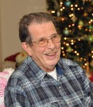 Grandpop at Christmas